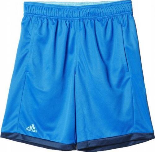 Adidas Spodenki dziecięce B Court Short niebieskie r. 158 (AJ3261)