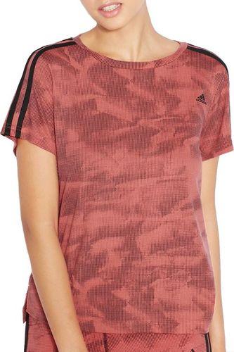 Adidas Koszulka damska Nd Paperprint Tee czerwona r. XS (AJ4673)