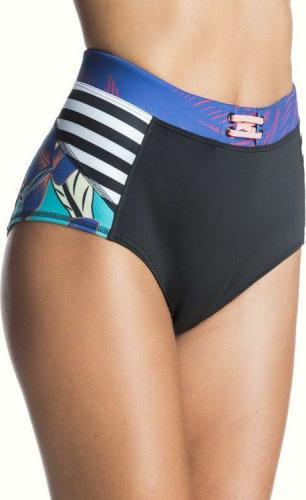 Roxy Bikini dół Polynesia High Waisted czarne r. M (ERJBS03014-KVJ0)