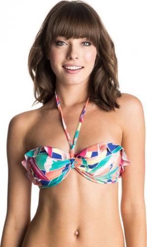 Roxy Bikini góra Underwire Bandeau zielony r. XL (ERJX303039-PPM6)