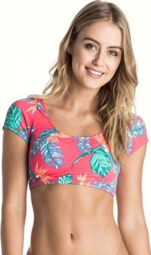 Roxy Bikini góra Cap Sleeve Crop Top różowe r. XL (ARJX303174-MLR6)