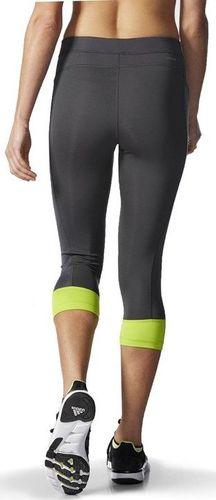 Adidas Legginsy damskie Techfit Capri szare r. M (AJ2261)