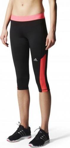 Adidas Legginsy damskie Ais Tf Capri czarne r. XXS (S00996)