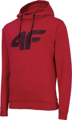 4f Bluza męska H4Z19-BLM073 czerwona r. XXL