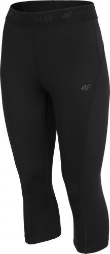 4f Spodnie damskie H4Z19-SPDF001 czarne r. M