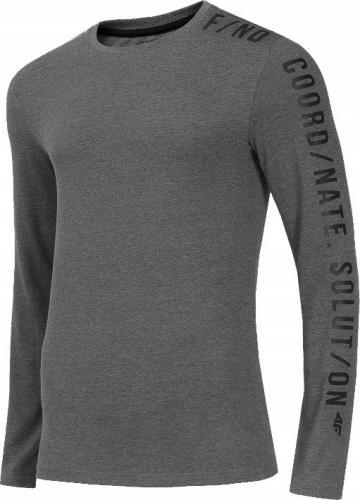 4f Koszulka męska H4Z19-TSML070 szara r. M