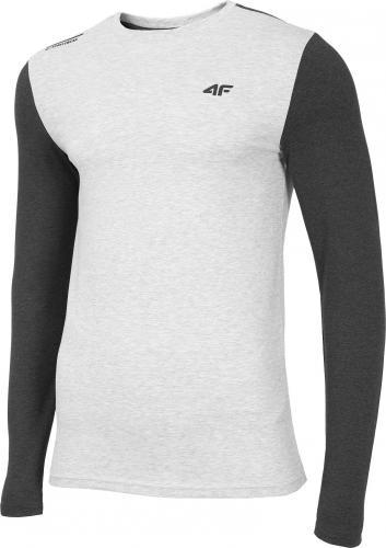 4f Koszulka męska H4Z19-TSML071 szara r. M