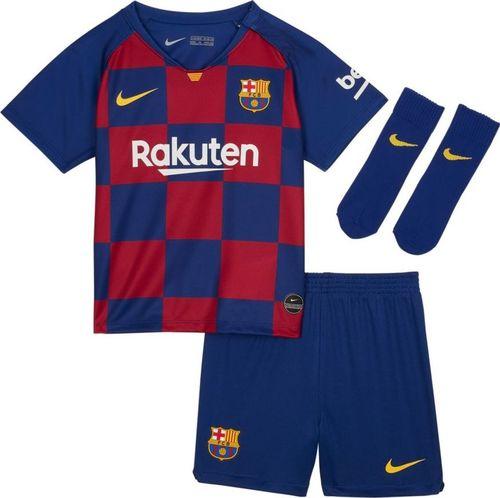 Nike Komplet Nike FC Barcelona I Breathe Kit Home AO3072 456 AO3072 456 niebieski 74 cm