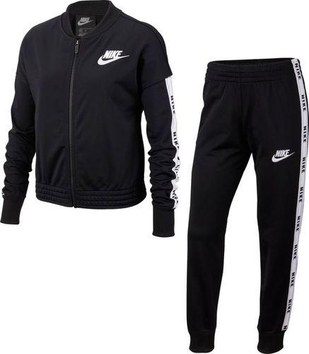 Nike Dres Nike G NSW Trk Suit BV2769 010 BV2769 010 czarny L (147-158cm)