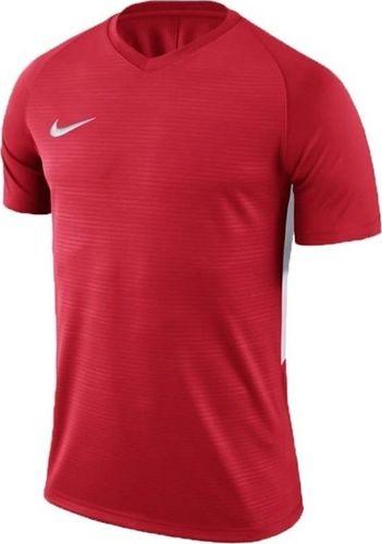 Nike Koszulka Nike Y NK Dry Tiempo Prem JSY SS 894111 657 894111 657 czerwony XL (158-170cm)