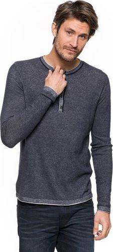 Tom Tailor TOM TAILOR MODERN PLATED HENLEY SWEATER S