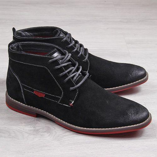 Cross Jeans Buty męskie INT1262 czarne r. 44