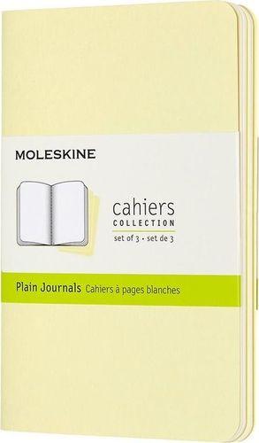 MOLESKINE Zestaw 3 zeszytów Cahier Journals 9x14 gładki