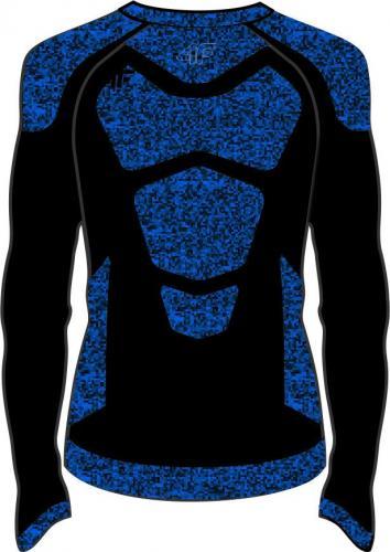4f Koszulka męska H4Z19-BIMB002G czarna r. S/M