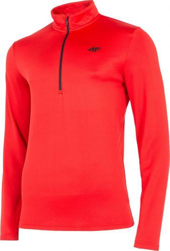 4f Koszulka męska H4Z19-BIMD002 czerwona r. L