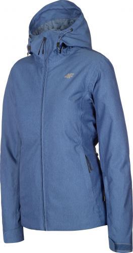 4f Kurtka narciarska damska H4Z19-KUDN001 niebieska r. L