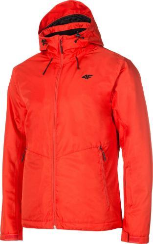 4f Kurtka narciarska męska H4Z19-KUMN001 czerwona r. XL