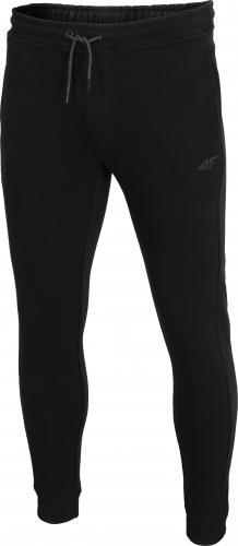 4f Spodnie męskie H4Z19-SPMD001 czarne r. XL