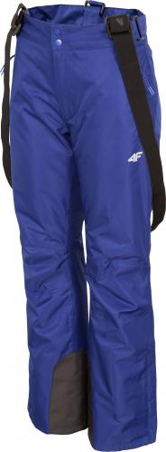 4f Spodnie damskie H4Z19-SPDN001 kobaltowe r. L