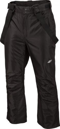 4f Spodnie męskie H4Z19-SPMN001 czarne r. L