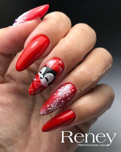 Reney Cosmetics Lakier hybrydowy Reney Elegance Pure Red 003 10ml uniwersalny