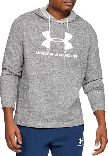 Under Armour Bluza męska Sportstyle Terry Logo Hoodie szara r. XL (1348520-112)