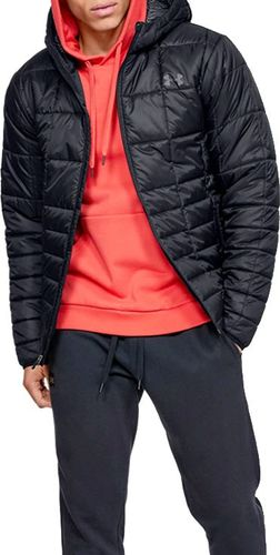 Under Armour Kurtka męska Insulated Hooded Jacket czarna r. L (1342740-001)