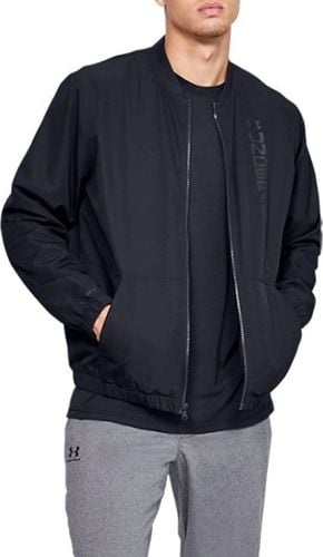 Under Armour Kurtka męska Unstoppable Essential Bomber czarna r. XL (1345610-001)