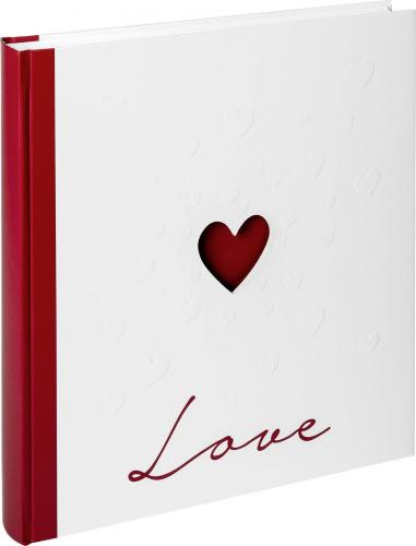 Walther Album Love 28x30,5 50 white Pages Wedding UH159