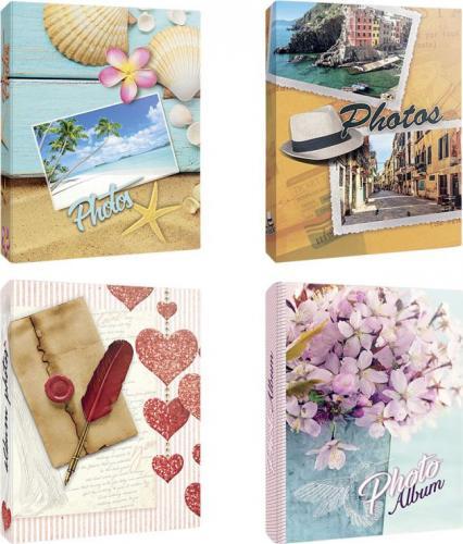 ZEP Album Carta color assorted 12x18 200 Photos Slip-In Album AV57200