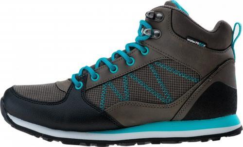Elbrus Buty damskie Celso Mid Wp Wo's Mid Grey/tile Blue/blue Bird r.  40