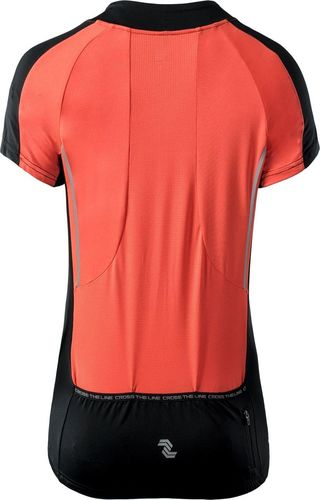 IQ Koszulka damska Atvia Hot Coral/Black r. S