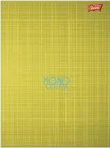 Unipap Zeszyt A5/60k Krata Mono Color Żółty Unipap uniwersalny