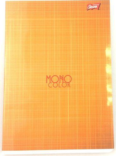 Unipap Zeszyt A5/60k Krata Mono Color Pomarańczowy Unipap uniwersalny