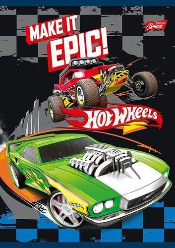 Unipap Unipap Zeszyt A5/16k linia Hot Wheels Epic
