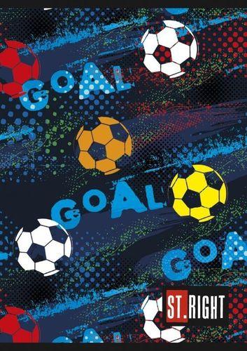 Unipap St. Right Zeszyt A5/32K linia podwójna Goal uniwersalny