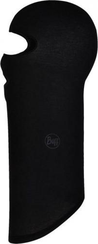 Buff Kominiarka Microfiber Balaclava Solid black r. uniwersalny