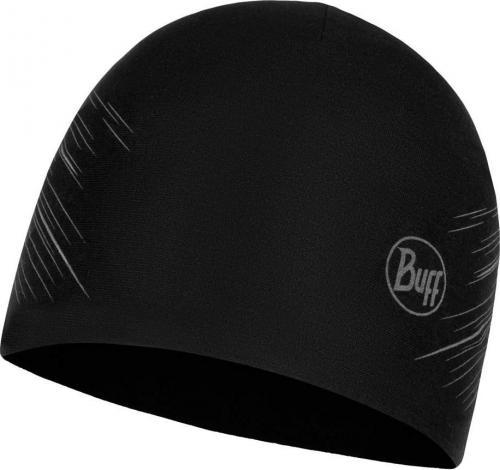 Buff Czapka Microfiber Reversible Hat R-Solid black r. uniwersalny