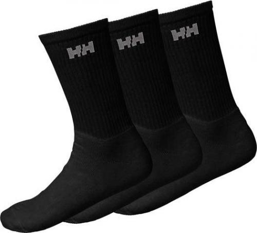 Helly Hansen Skarpety 3-Pack Cotton Sock Black r. 38-41