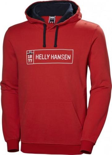 Helly Hansen Bluza męska 1877 Hoodie Flag Red r. M