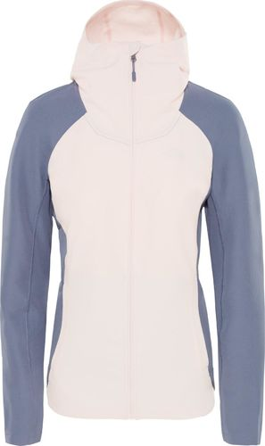 The North Face Kurtka damska Invene Softshell Pink Salt/Grisaille Grey r. S (T93RY3B98)