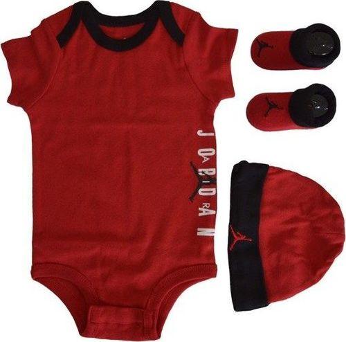 Jordan  Zestaw dla dzieci Jordan JHB Gym Red - MJ0178-R78 6-12 M