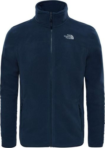 The North Face Bluza męska 100 Glacier Full Zip granatowa r. S (T92UAQU6R)