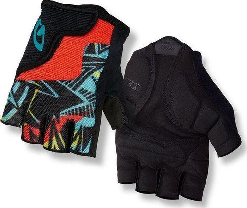 GIRO Rękawiczki juniorskie GIRO BRAVO JR krótki palec blast roz. L (obwód dłoni od 162 mm / dł. dłoni od 165 mm) (NEW)