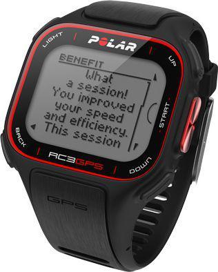 Polar RC3 GPS HR Czarny