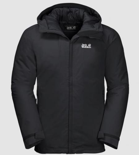 Jack Wolfskin Kurtka męska Argon Storm Jacket M black r. XL