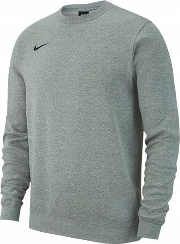 Nike Bluza męska Team Club 19 Fleece Crew szara r. 2XL (AJ1466 063)
