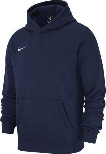 Nike Bluza dziecięca Team Club 19 Fleece Hoodie PO granatowa r. 128 (AJ1544 451)