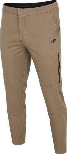 4f Spodnie męskie H4Z19-SPMC070 khaki r. S