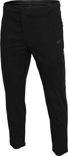 4f Spodnie męskie H4Z19-SPMC070 czarne r. XL